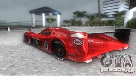 Toyota GT-One TS020 для GTA Vice City вид сзади слева