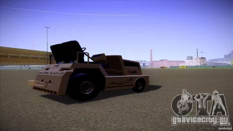 Air Tug from GTA IV для GTA San Andreas вид слева