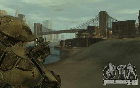 Halo 4 Master Chief для GTA 4 третий скриншот