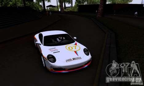 Porsche 911 Carrera S для GTA San Andreas вид сбоку