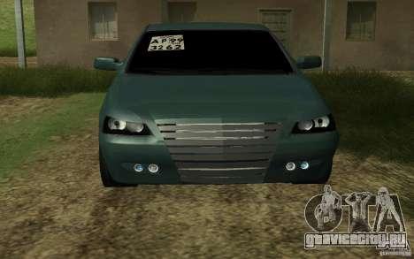 ВАЗ Лада Приора для GTA San Andreas вид сзади слева