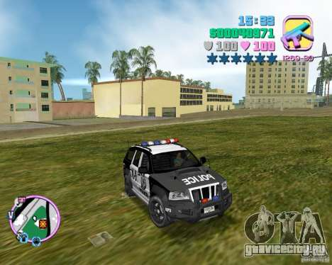 Jeep Grand Cheeroke COPSUV FROM NFS:MW для GTA Vice City