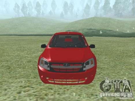 ВАЗ 2192 для GTA San Andreas вид слева