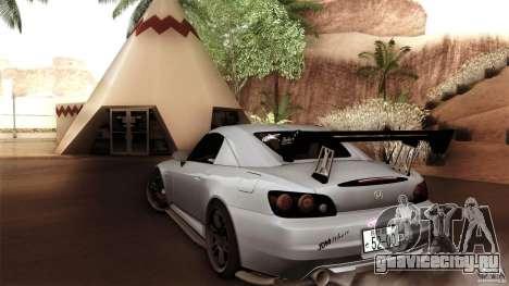 Honda S2000 JDM для GTA San Andreas вид сзади слева