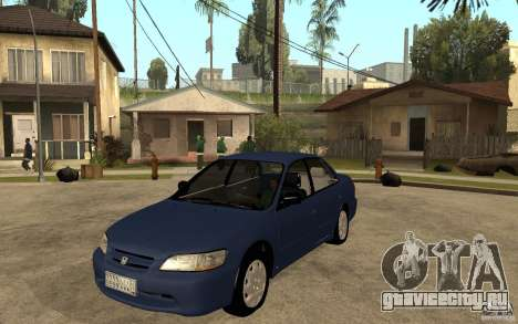 Honda Accord 2001 beta1 для GTA San Andreas