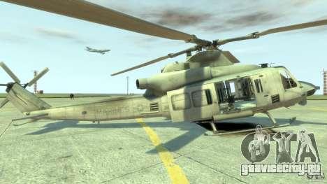 Bell UH-1Y Venom для GTA 4 вид слева