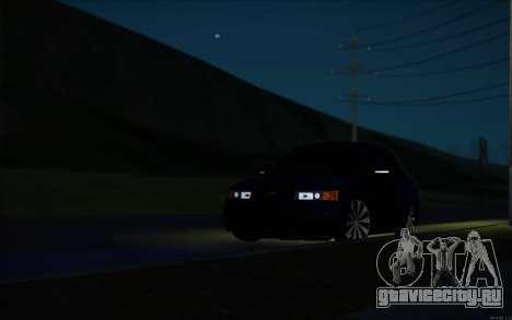 ВАЗ 2110 Качественная для GTA San Andreas вид сверху