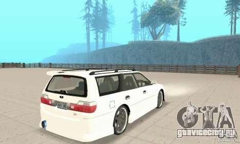 Nissan Stagea GTR для GTA San Andreas вид справа