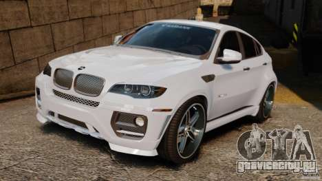 BMW X6 Hamann Evo22 no Carbon для GTA 4