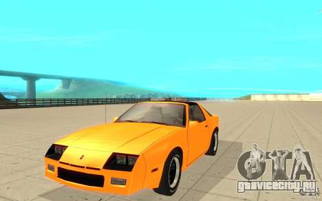 Chevrolet Camaro 1986 Targa Top для GTA San Andreas