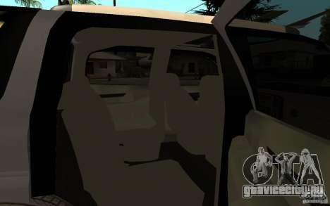 Cadillac Escalade pick up для GTA San Andreas вид справа