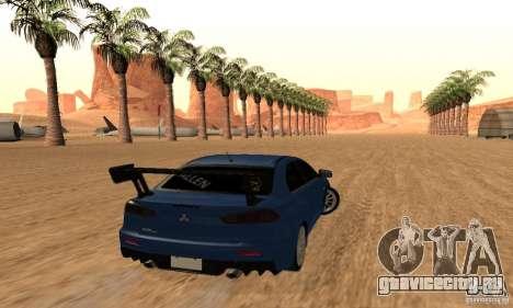 New Drift Zone для GTA San Andreas девятый скриншот