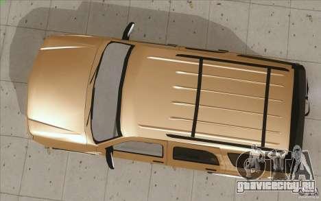 Cadillac Escalade 2004 для GTA San Andreas вид справа