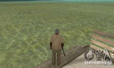 Tropic Water Mod для GTA San Andreas