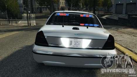 Ford Crown Victoria Police Unit [ELS] для GTA 4 колёса