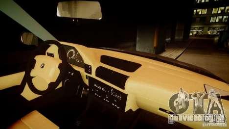 BMW M5 (E34) 1995 v1.0 для GTA 4 вид сверху