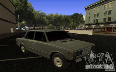 ВАЗ 2106 Тюмень для GTA San Andreas вид сбоку