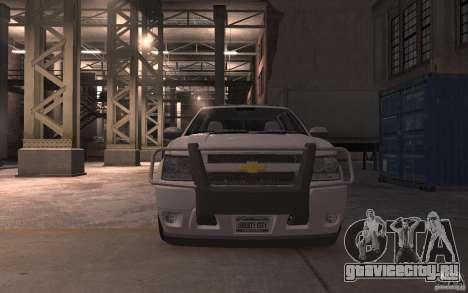 Chevrolet Avalanche v1.0 для GTA 4 вид изнутри
