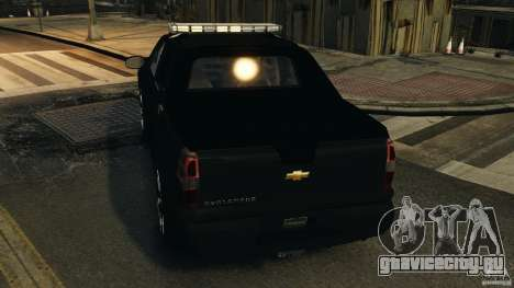 Chevrolet Avalanche 2007 [ELS] для GTA 4 колёса