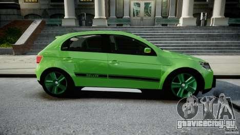 Volkswagen Gol Rallye 2012 v2.0 для GTA 4 вид изнутри