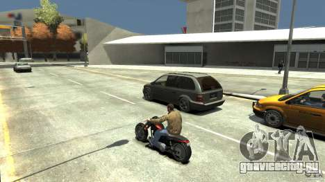 The Lost and Damned Bikes Revenant для GTA 4 вид справа