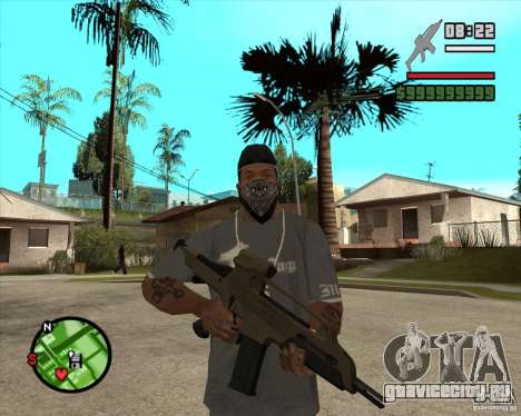 End Of Days: XM8 (HD) для GTA San Andreas