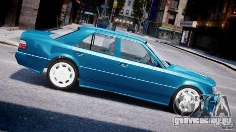 Mercedes-Benz W124 E500 1995 для GTA 4 вид слева
