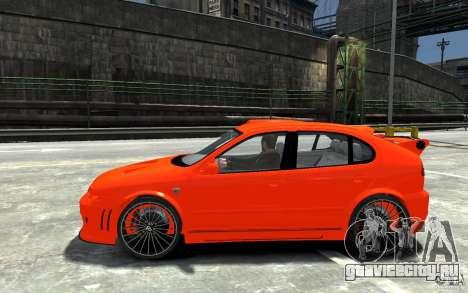 Seat Leon Cupra R для GTA 4 вид слева