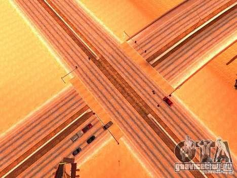 Нормальные водилы на трассе для GTA San Andreas третий скриншот