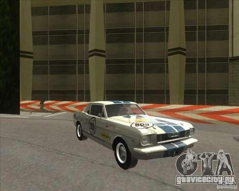 Ford Mustang 1965 для GTA San Andreas вид слева