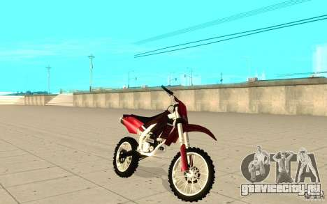 GTAIV Sanchez для GTA San Andreas