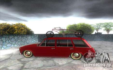 ВАЗ 2102 retro для GTA San Andreas вид слева