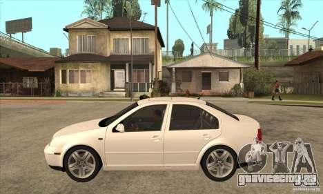 Volkswagen Bora VR6 2003 для GTA San Andreas вид слева