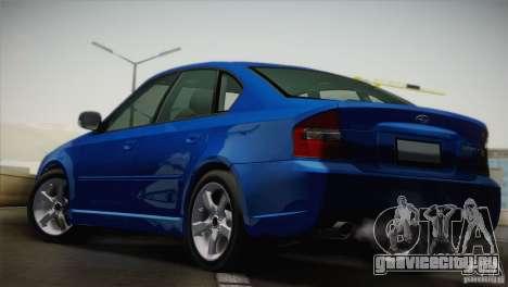 Subaru Legacy 2004 v1.0 для GTA San Andreas вид сзади слева