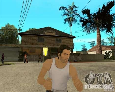Скин Tommy Vercetti v1 FINAL для GTA San Andreas третий скриншот