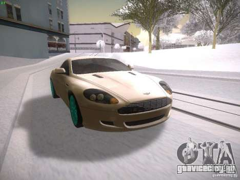 Aston Martn DB9 2008 для GTA San Andreas вид слева