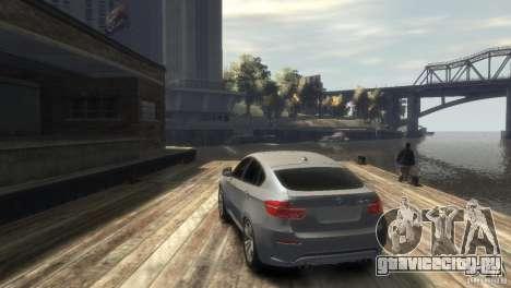 BMW X6M для GTA 4 вид справа