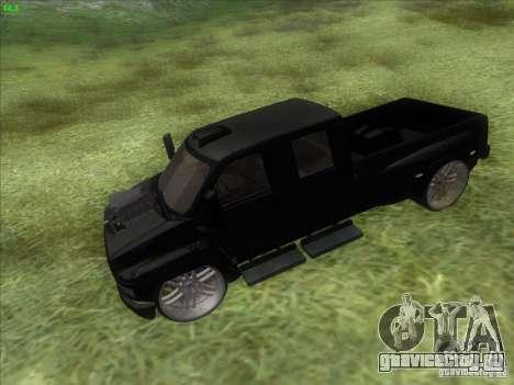 GMC C4500 Pickup DUB Style для GTA San Andreas вид справа