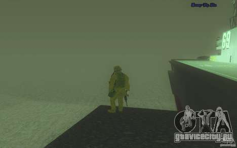 HD Вода V2.0 для GTA San Andreas третий скриншот