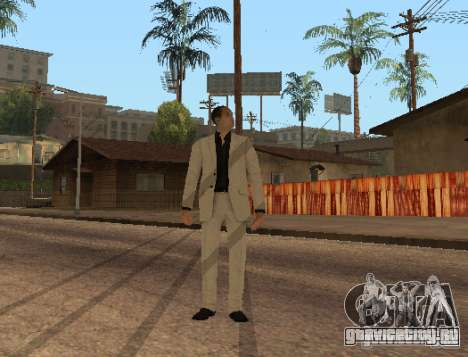 Red Dragon Clan Yakuza для GTA San Andreas третий скриншот
