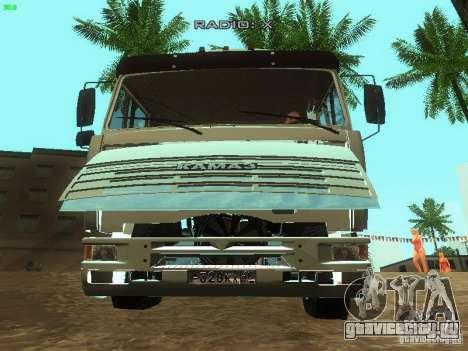 КамАЗ 6460 для GTA San Andreas вид сбоку