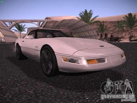 Chevrolet Corvette Grand Sport для GTA San Andreas вид слева