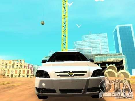 Chevrolet Astra Hatch 2010 для GTA San Andreas вид сзади