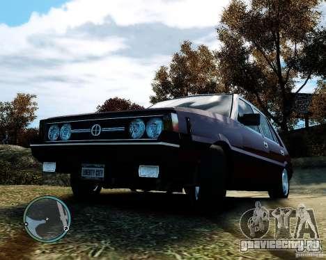 FSO Polonez 1500 Borewicz для GTA 4 вид сбоку