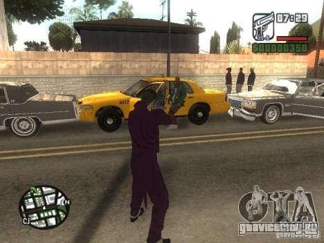HQ Joker Skin для GTA San Andreas девятый скриншот