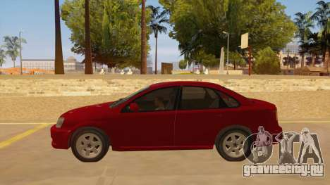 Buick Excelle для GTA San Andreas вид слева
