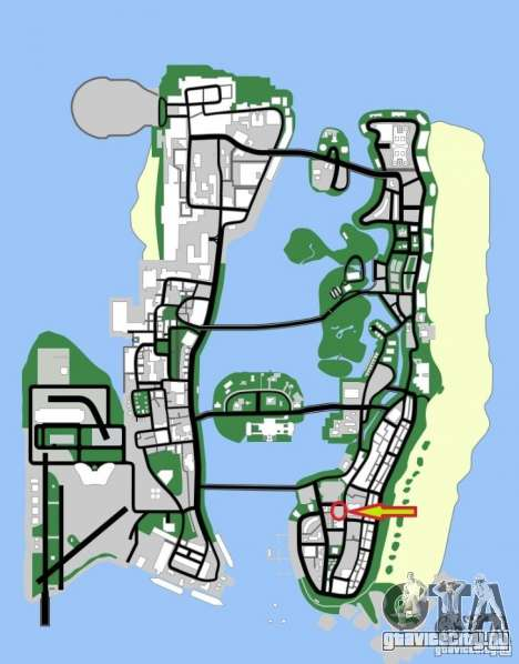 Shell Station для GTA Vice City шестой скриншот