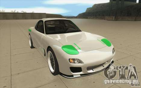 Mazda FD3S - Ebisu Style для GTA San Andreas вид сзади