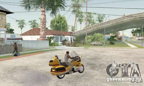 Honda Goldwing GL 1500  (1990) для GTA San Andreas вид слева