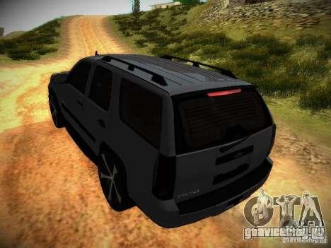 Chevrolet Tahoe HD Rimz для GTA San Andreas вид сверху